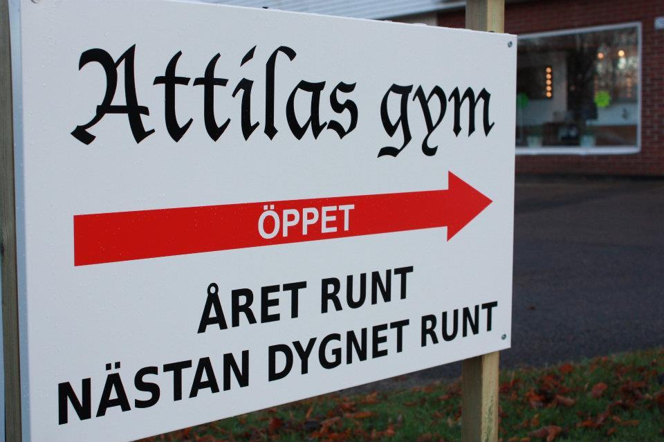 4800cc6c4b6 Öppettider   Attilas Gym